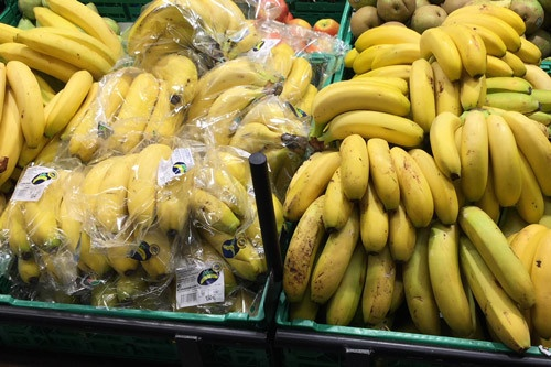Como conservar los plátanos - Ejemplo negativo