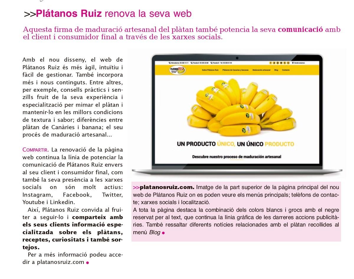 Plátanos Ruiz - Catalunya Fruiters
