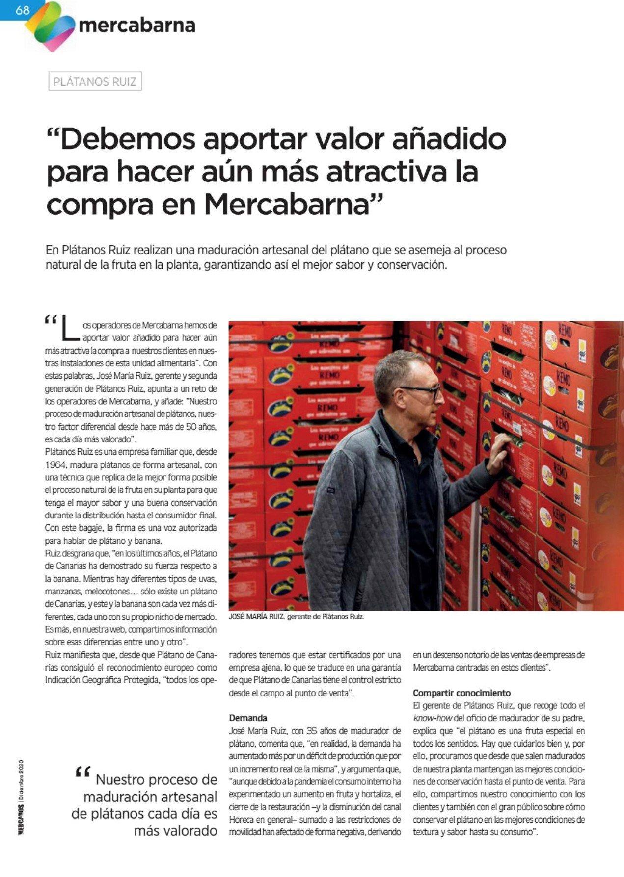 Entrevista Revista Mercados
