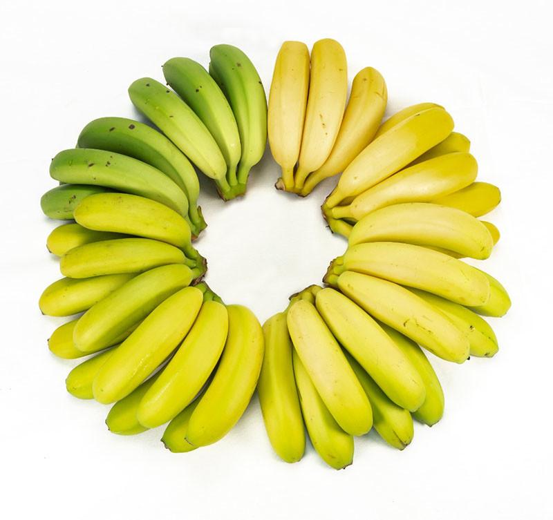Maduración artesanal de plátanos